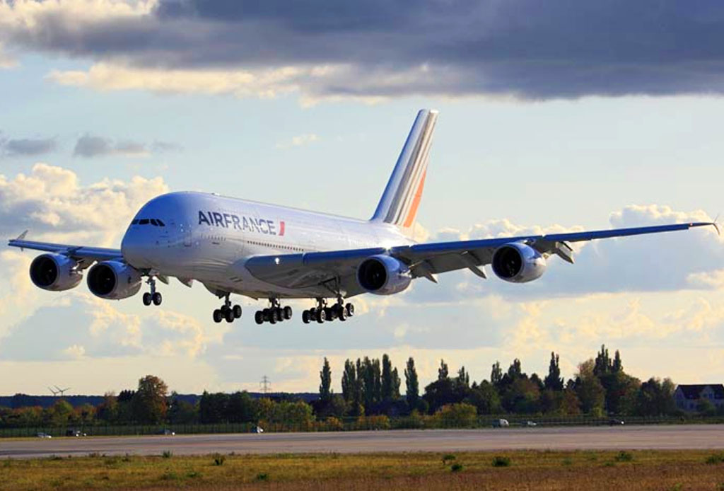 El avión más grande del mundo llegó a México