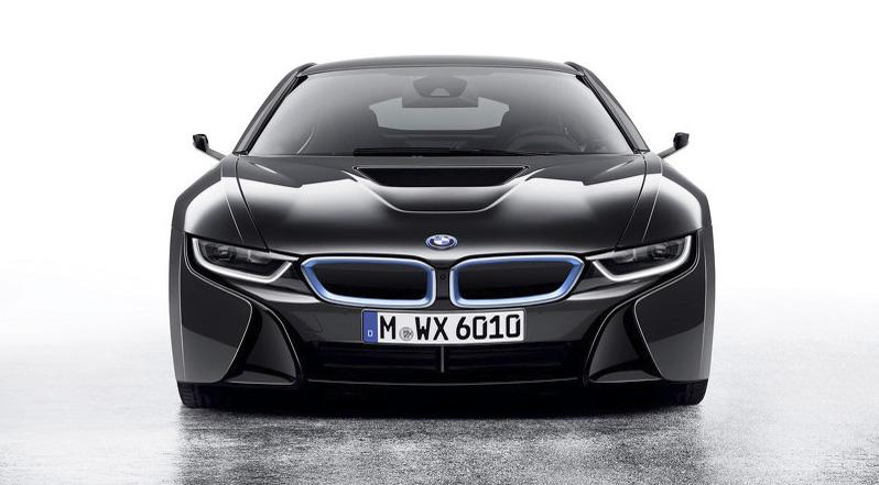 BMW lanza un prototipo de auto sin espejos