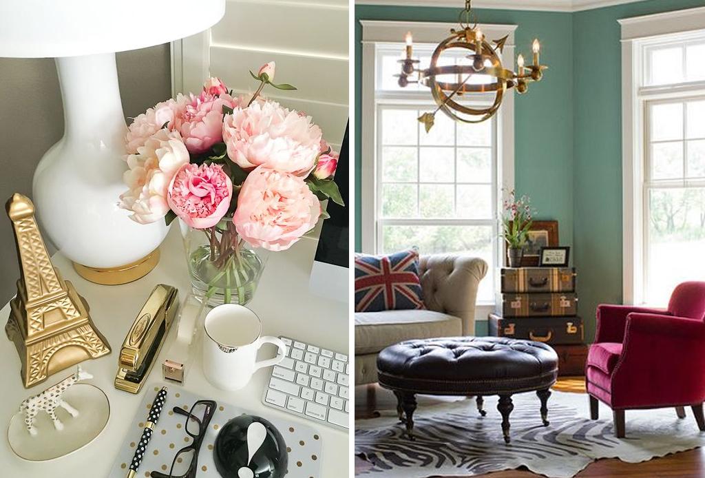 Plasma tu espíritu viajero en la decoración de tu hogar - metalicos