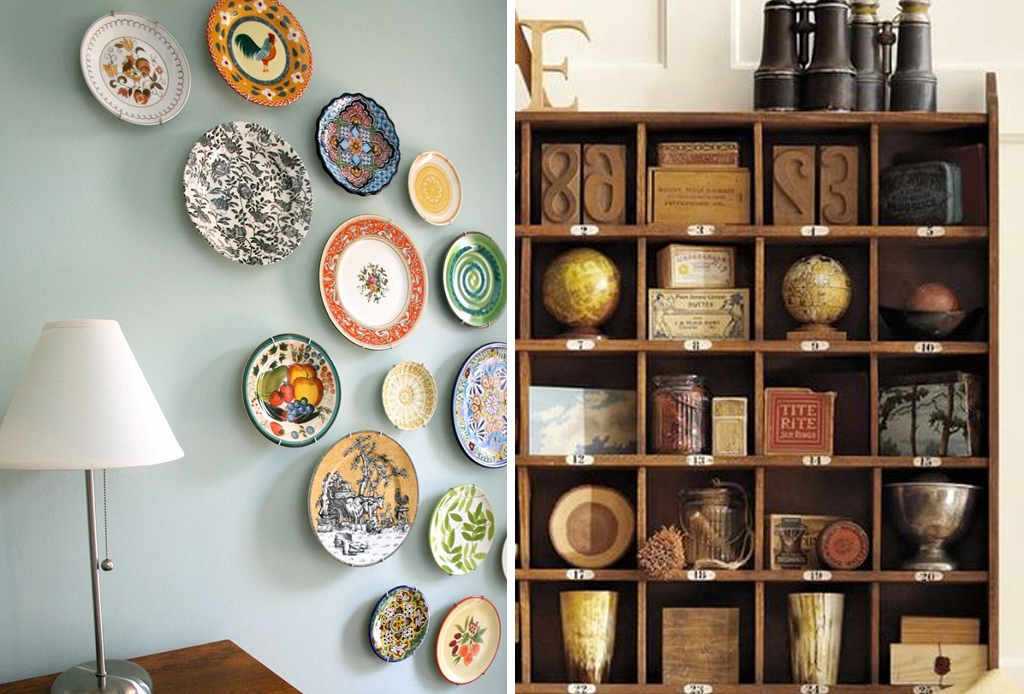Plasma tu espíritu viajero en la decoración de tu hogar - souvernirs