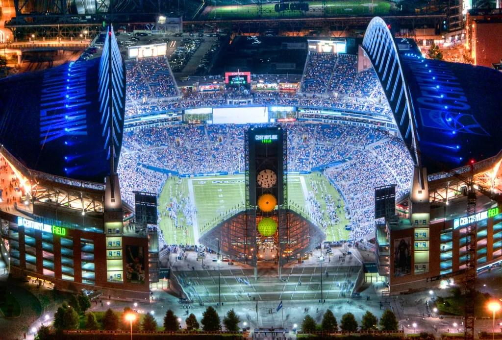 Los 7 estadios más lujosos de la NFL - estadios-mas-lujosos-seahawks