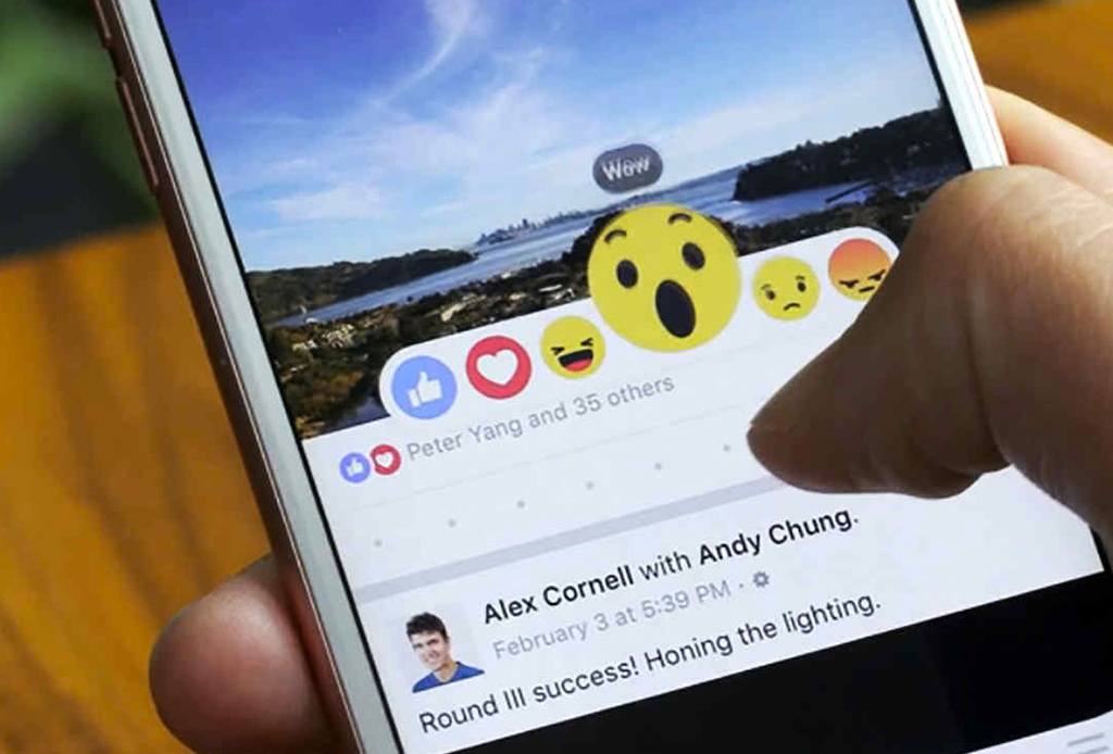 Conoce las nuevas 'reactions' de Facebook cuando das un LIKE - facebook-reacciones
