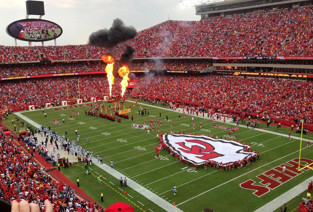 Los 7 estadios más lujosos de la NFL - kansas