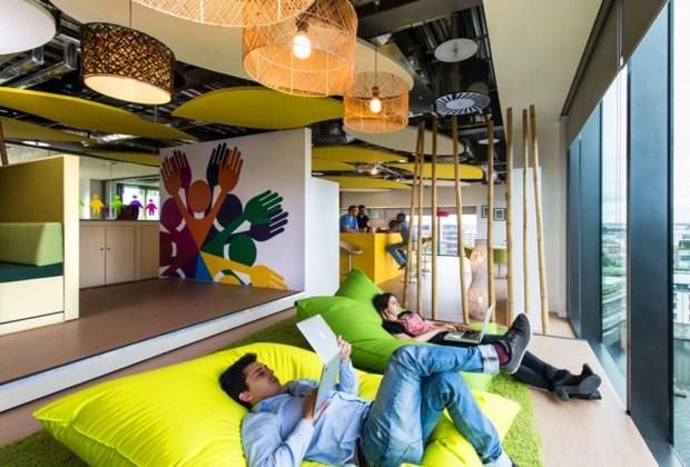 Las 5 oficinas más cool del mundo - oficinas-google-1024x694