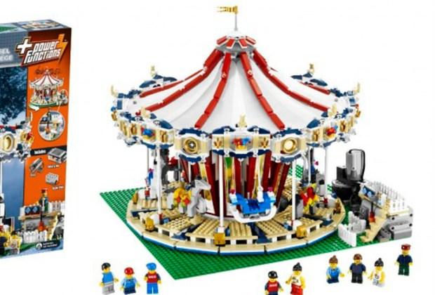 Los 7 sets de Lego más caros del mundo - carousel-lego-1024x694