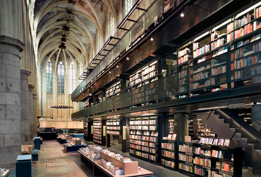 Estas son la librerías más impresionantes del mundo