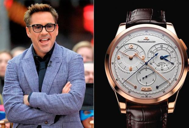 ¿Cuáles son los relojes que usan las celebridades? - robert-downey-jr-1024x694