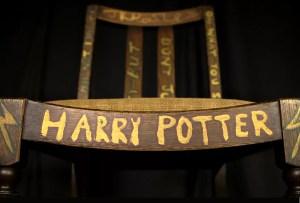 La silla en la que J.K. Rowling escribió Harry Potter será subastada