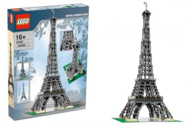 Los 7 sets de Lego más caros del mundo - torre-eiffel-lego-1024x694