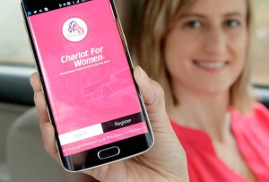 Chariot For Women es el transporte privado exclusivo para mujeres