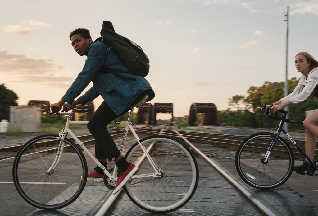 Levi's desarrolló jeans especiales para ciclistas