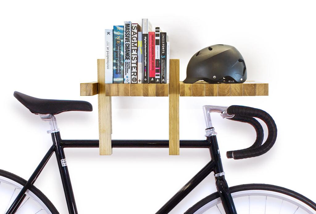 Decora tu depa con tu propia bicicleta - bici-colgadores-tendencias-decor