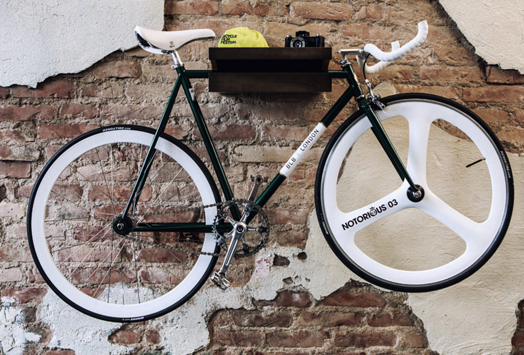 Decora tu depa con tu propia bicicleta