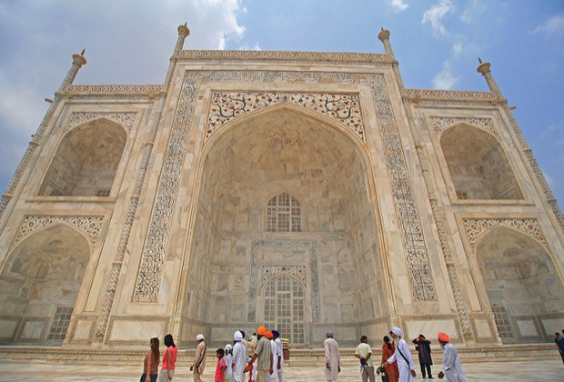 10 datos del Taj Mahal que probablemente no conocías - pasajes-del-coran-1024x694