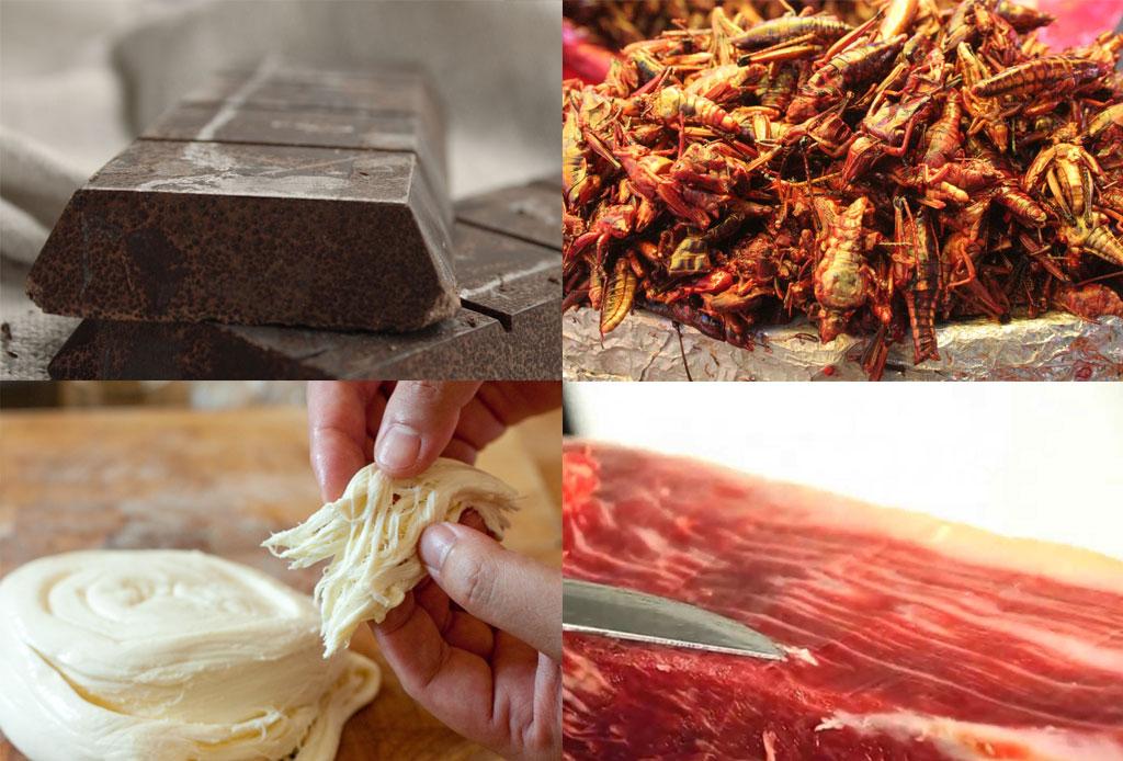 La forma CORRECTA de tomar mezcal - chocolate-chapulines-queso
