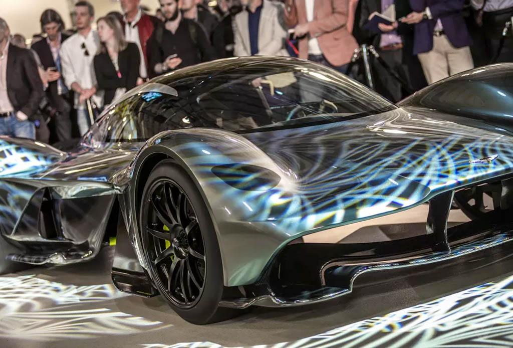 El primer coche que Aston Martin hizo para la F1