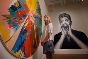 Una exposición con la colección privada de David Bowie
