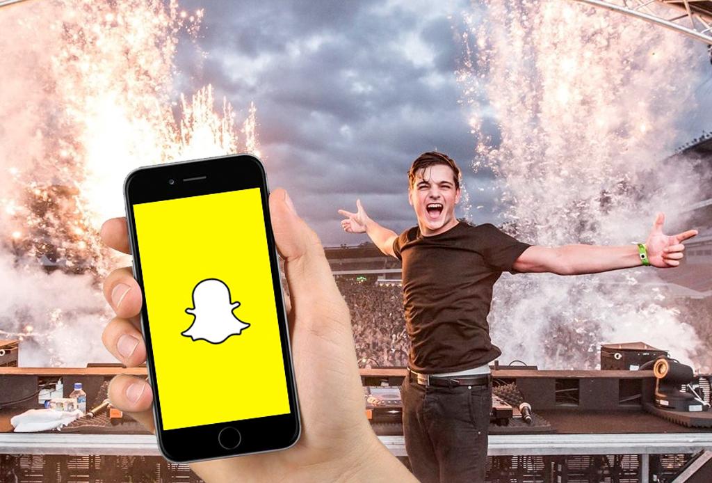 Sigue a tus Dj's favoritos en Snapchat