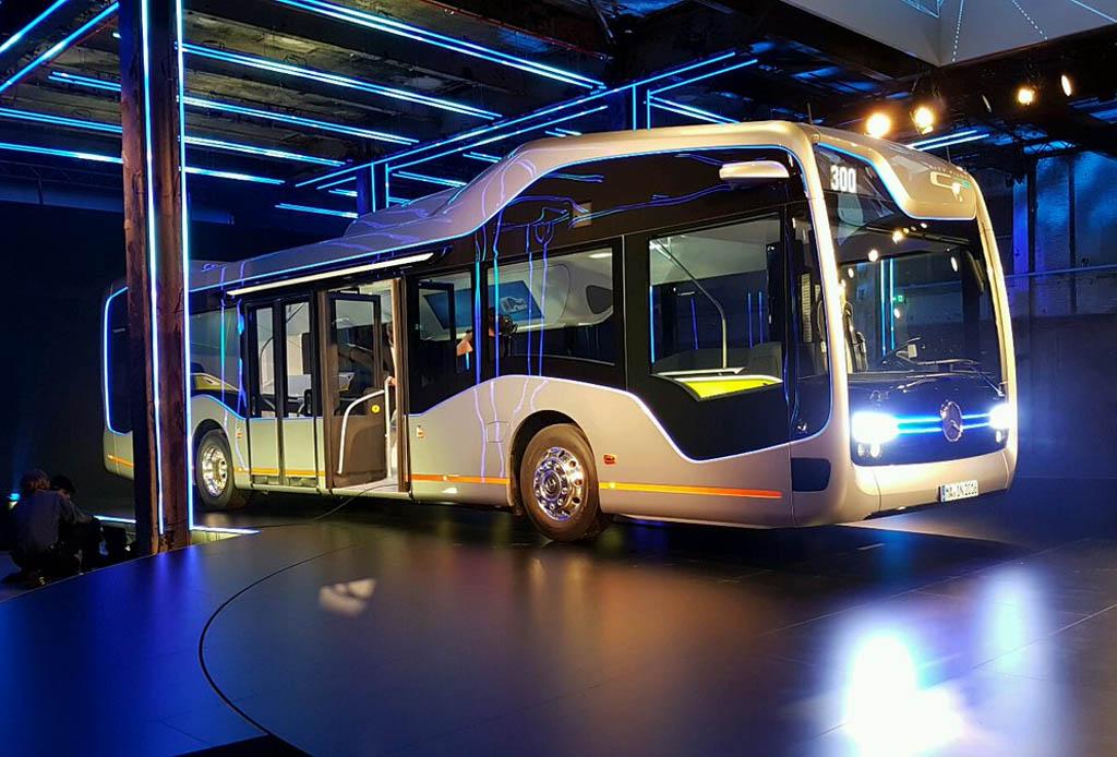El autobús de Mercedes-Benz que debería estar en la CDMX