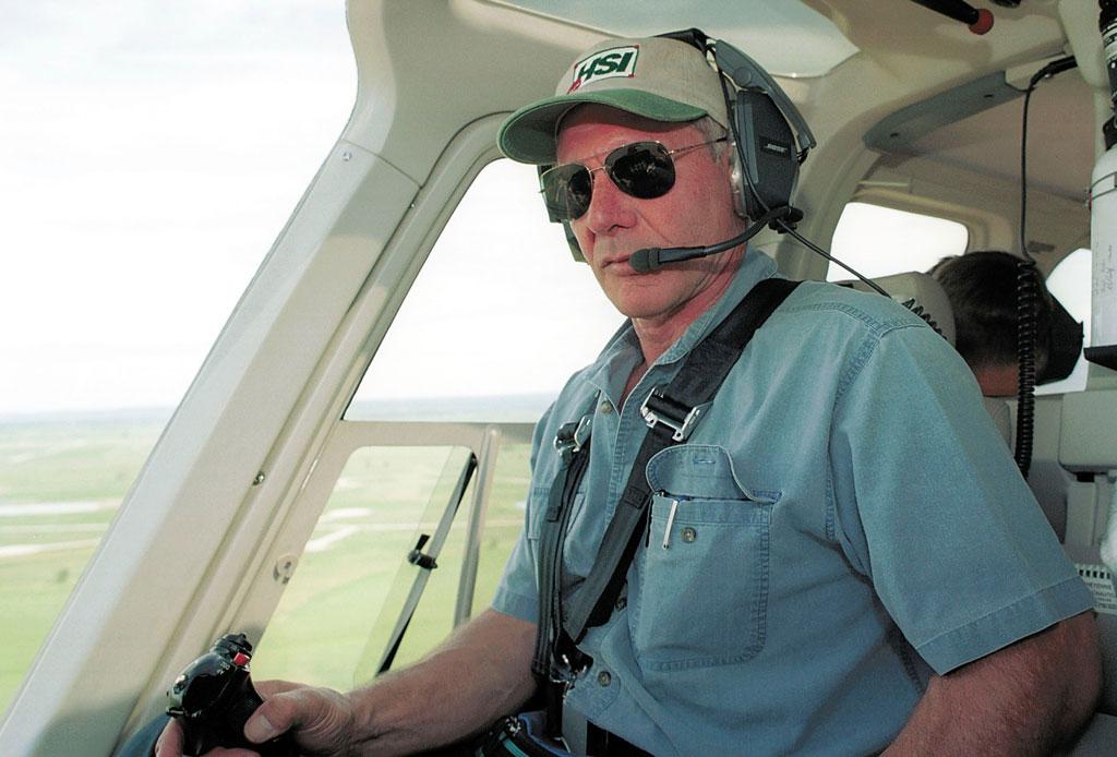 10 cosas que probablemente no sabías de Harrison Ford - harrison-ford-piloto