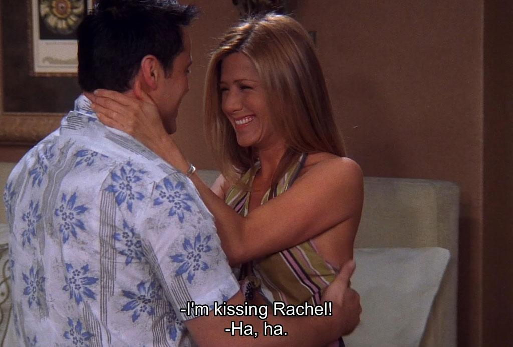 """14 datos que probablemente no sabías de la serie """"Friends"""" - joey-rachel"""