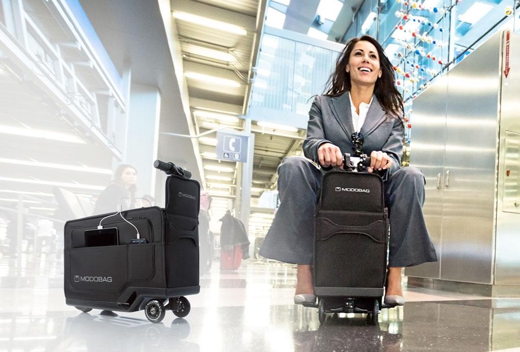 Modobag: La maleta motorizada que querrás para tus viajes