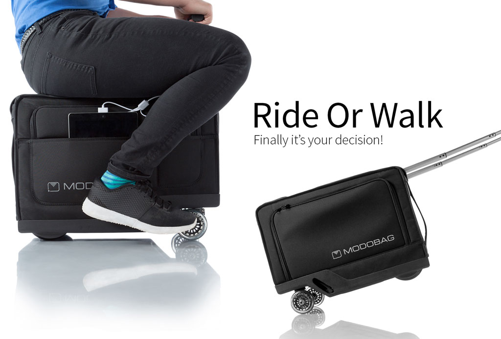 Modobag: La maleta motorizada que querrás para tus viajes - maleta-con-motor-2