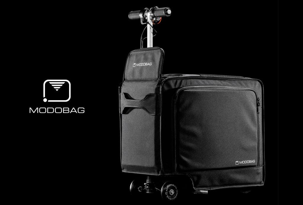 Modobag: La maleta motorizada que querrás para tus viajes - maleta-con-motor