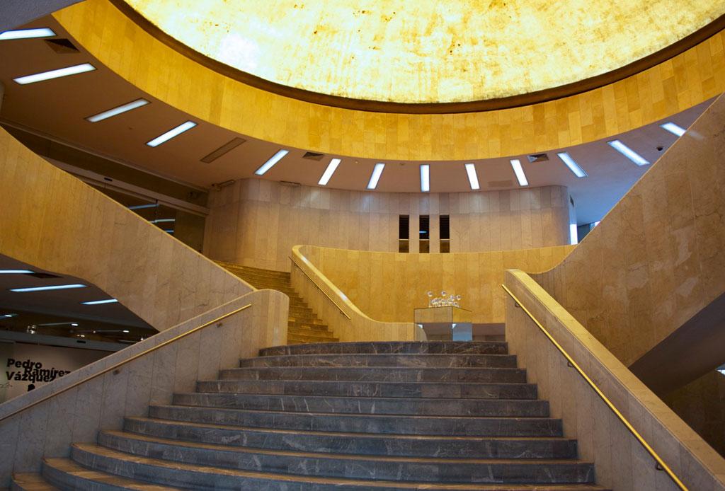 42 lugares para un inolvidable tour arquitectónico por la CDMX - museo-de-arte-moderno