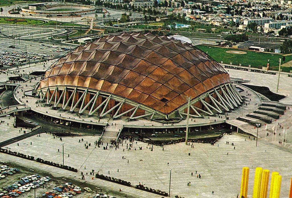 42 lugares para un inolvidable tour arquitectónico por la CDMX - palacio-de-los-deportes