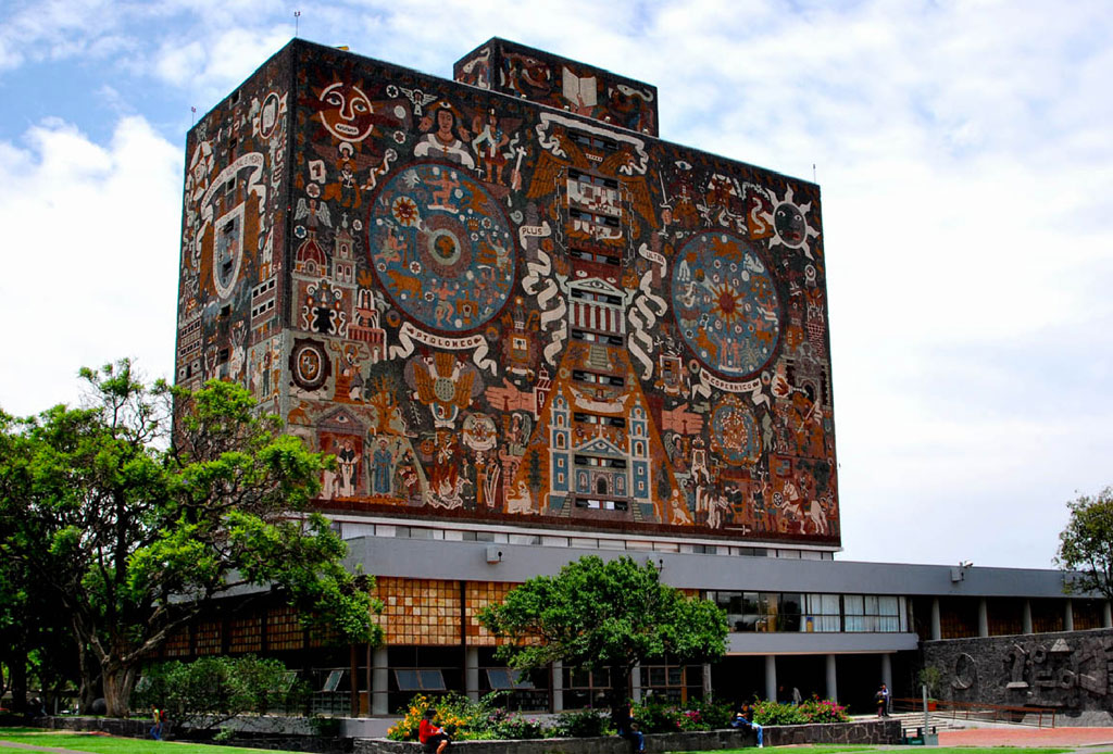 42 lugares para un inolvidable tour arquitectónico por la CDMX - unam