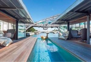 El primer hotel flotante está en París