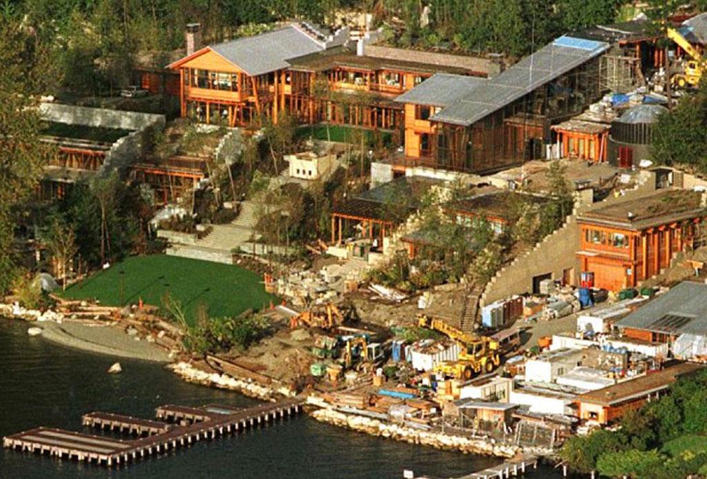 11 datos que no sabías de la casa de Bill Gates - casa-bill-gates-8