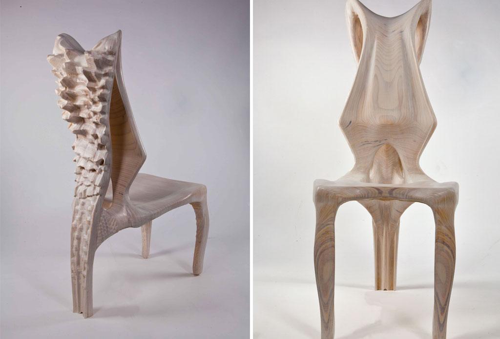 5 exclusivos muebles con un diseño de terror - exocarp-hair