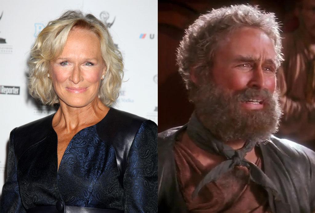 Nunca te imaginaste que estos famosos actores hicieron pequeños roles en estas películas - glenn-close