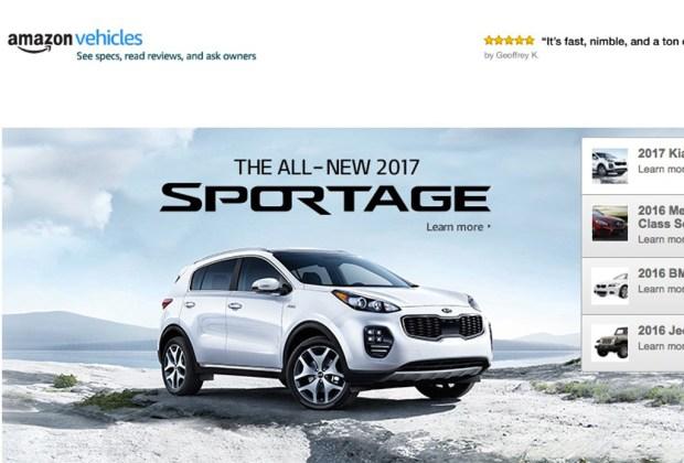 ¡Ya podrás comprar coches en Amazon! - camioneta-1024x694
