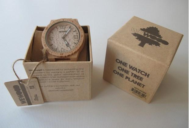 Wewood: relojes que ayudan al medio ambiente - reloj-1024x694