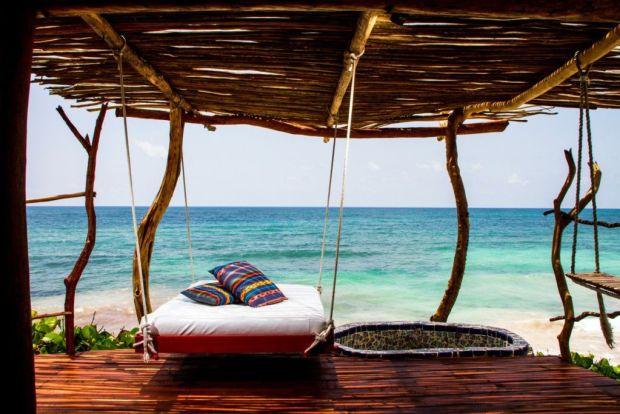 13 hoteles en Tulum para ir con tu pareja - azulik-1024x683