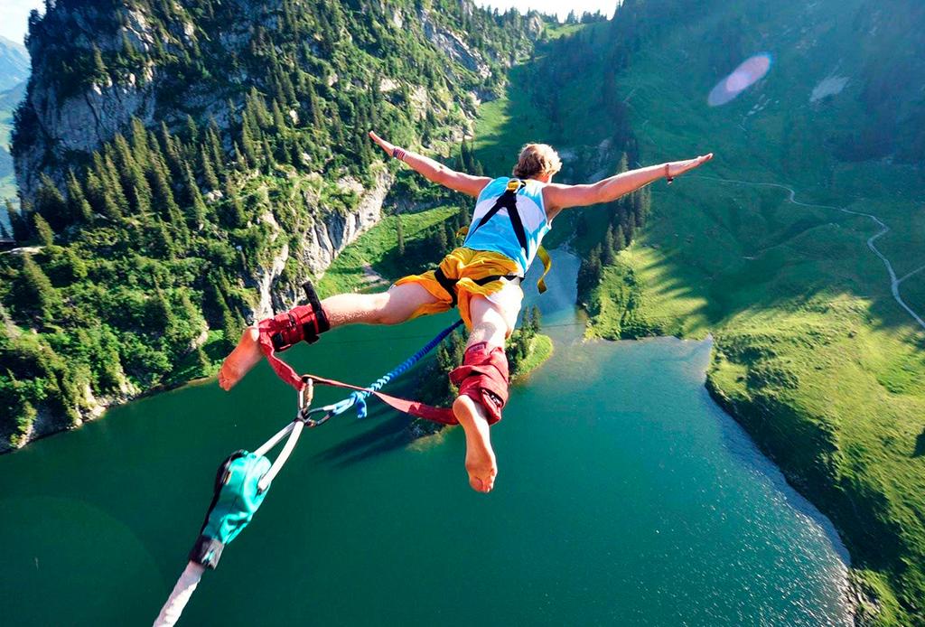 Los deportes extremos que debes hacer antes de morir - bungee