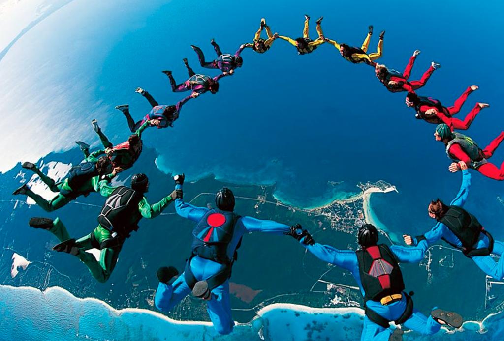 Los deportes extremos que debes hacer antes de morir - skydiving