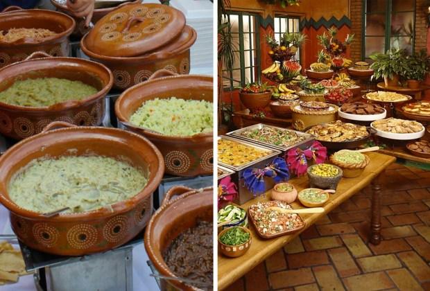 10 tips para decorar una boda con espíritu mexicano - boda-mexicana-comida-1024x694