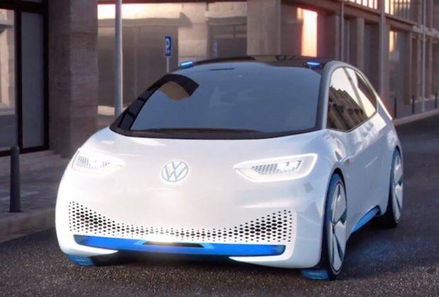 Así se verá el nuevo coche eléctrico de Volkswagen - carro-electrico-1024x694