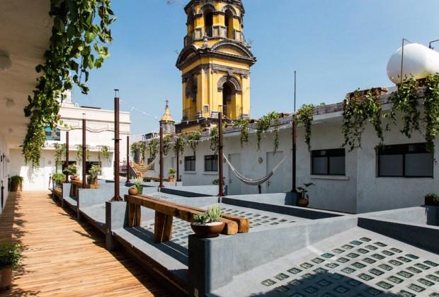 6 hoteles para hospedarte en el Centro Histórico de la CDMX - chaya-1024x694