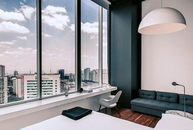 8 exclusivos hoteles minimalistas en México para tu próxima vacación - distrito-capital-minimalista-1024x694