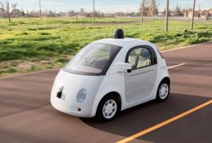 ¡Google presenta su primer coche autónomo!