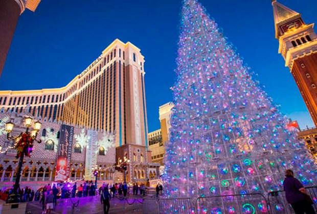 Estos 9 destinos son ideales para pasar navidad - las-vegas-1024x694