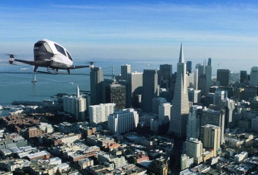 ¡Adiós tráfico! Ahora habrá Uber aéreo