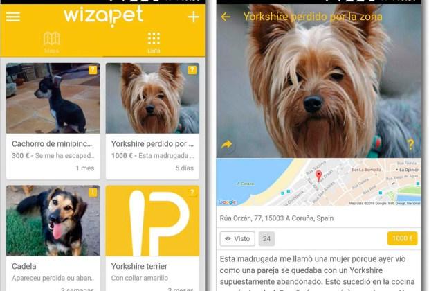 Wizapet: la app que te ayuda a recuperar a tu mascota - wizapet-1024x694