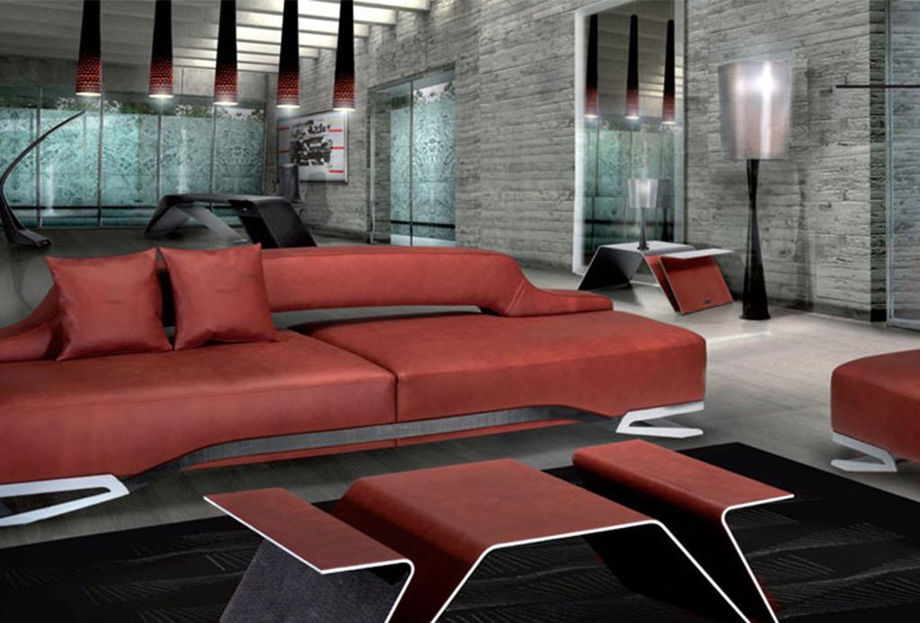 5 marcas de coches que también fabrican exclusivos muebles - c-aston