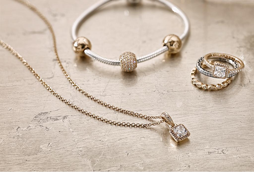 8 piezas de Pandora de elegancia atemporal